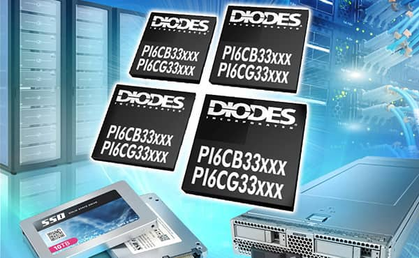 Image of Diodes PI6CG Clock Generators