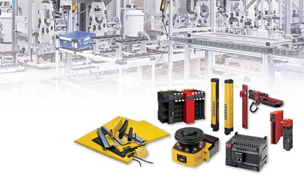 Image of Omron's Safety Products
