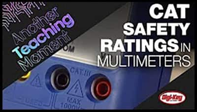 image of CAT Safety Ratings in Multimeters