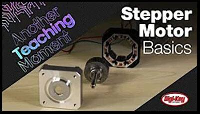 image of Stepper Motor Basics - Another Teaching Moment