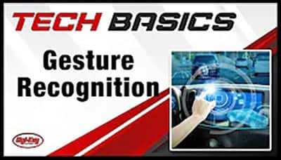 image of Gesture Recognition-Tech Basics